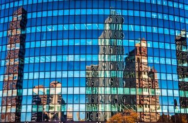 Phoenix Building Reflection, Hartford, Connecticut