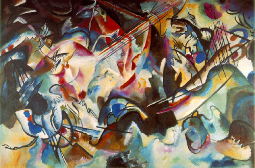 Wassily Kandinsky: Composition #6