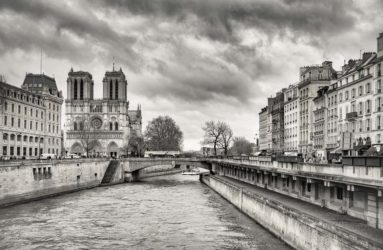 View Of Notre Dame, Paris, France