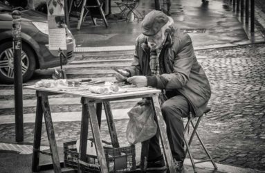 Montmartre Artist, Paris, France
