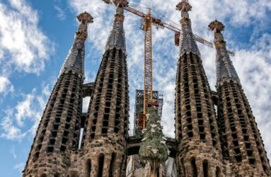 Sagrada Familia Basicilica, Barcelona, Spain
