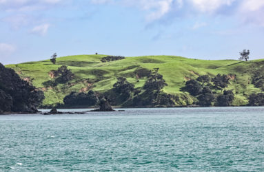 Auckland Harbor, North Island