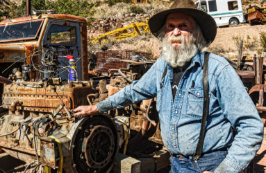 Don Robertson, owner of Gold King Mine, Jerome, AZ